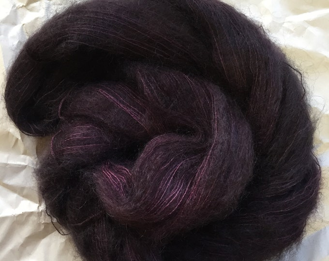 WOLKE mohair/silk laceweight - double espresso