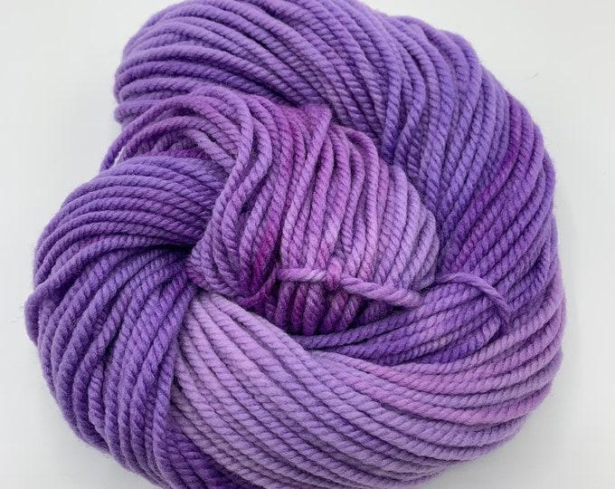 merino chunky -  periwinkle purple