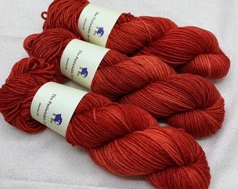 merino dk - red hibiscus