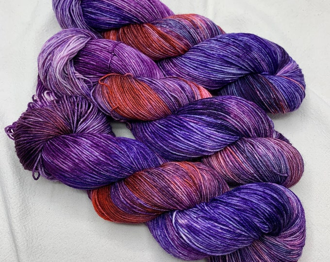 Rainbow of Hope - color 7 - purples with red