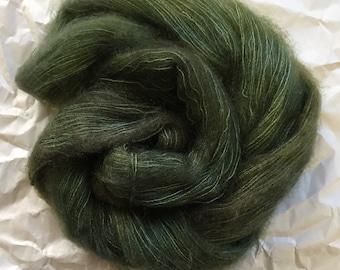 WOLKE mohair/silk laceweight - juniper