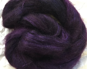 WOLKE mohair/silk laceweight - new day, new purple
