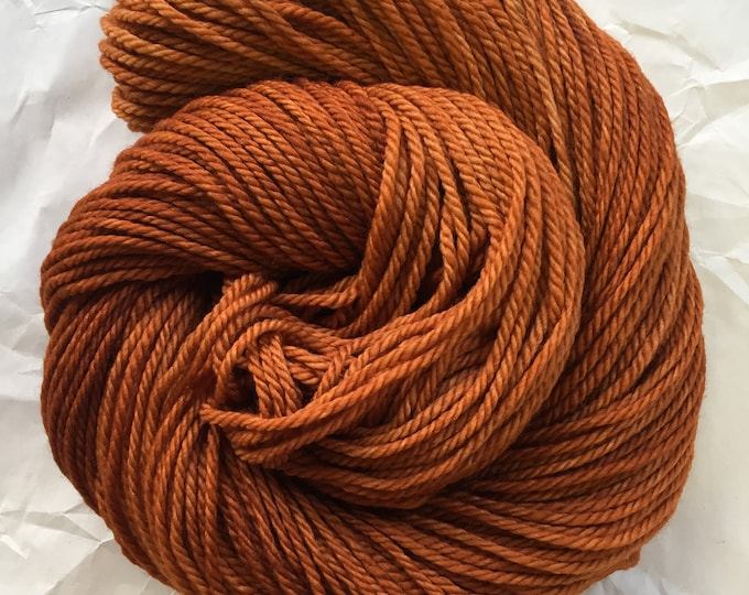 SALE merino aran - off color tobacco