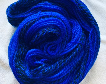 highland wool worsted - sapphire