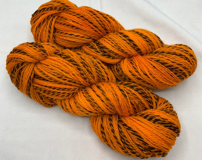 highland wool fingering - high visibility