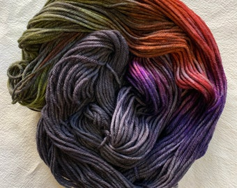 merino worsted - after party - black