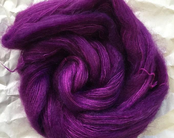 WOLKE mohair/silk laceweight  - fuchsia agate