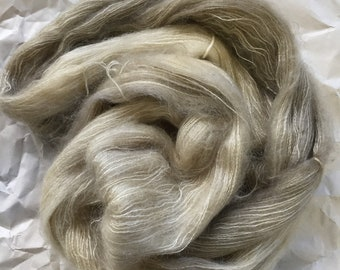 SALE on select colors WOLKE mohair/silk laceweight - parchment