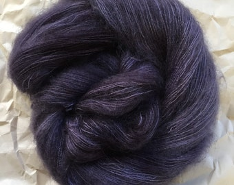 WOLKE mohair/silk laceweight - Stones dancing in the fog