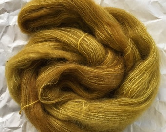 WOLKE mohair/silk laceweight - Gold rush
