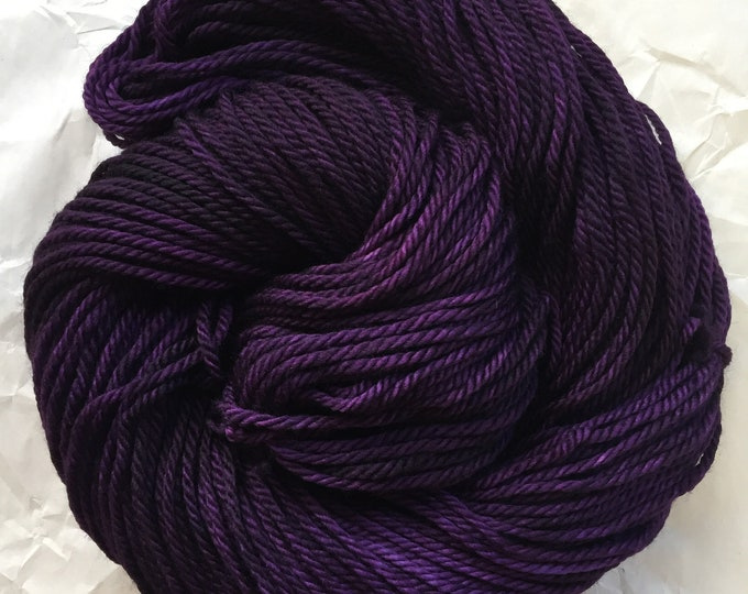 merino aran - new day, new purple