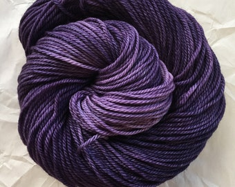 merino aran - elderberry