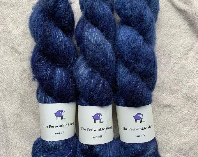 suri silk - modern blue