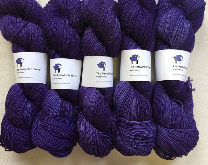 watercolors sock yarn - you are loved