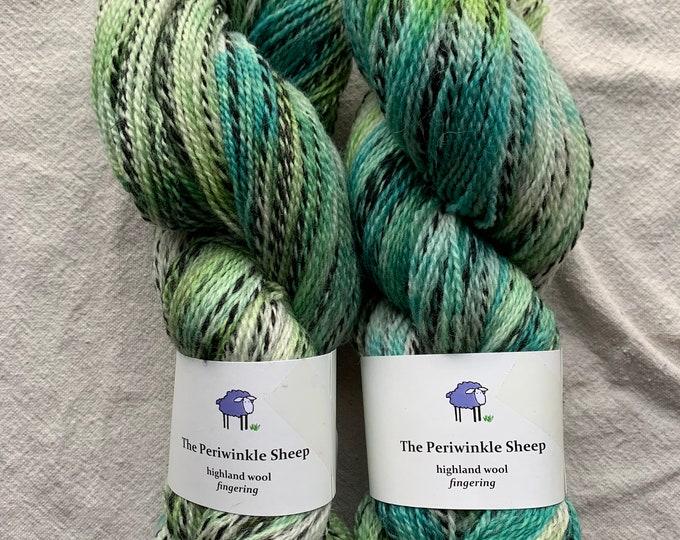 highland wool fingering - speckles no. 41