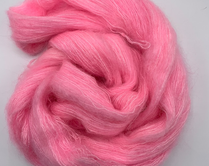 WOLKE mohair/silk laceweight - cotton candy