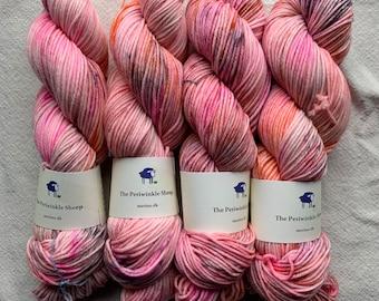 SALE merino dk - speckles no. 33 (too pink)