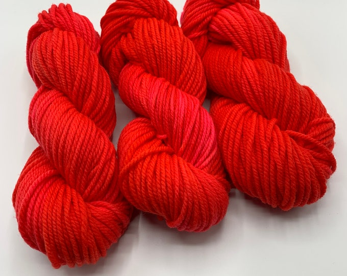 merino chunky - cherry on top