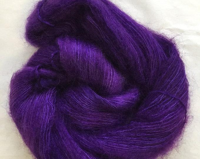 WOLKE mohair/silk laceweight - ultraviolet