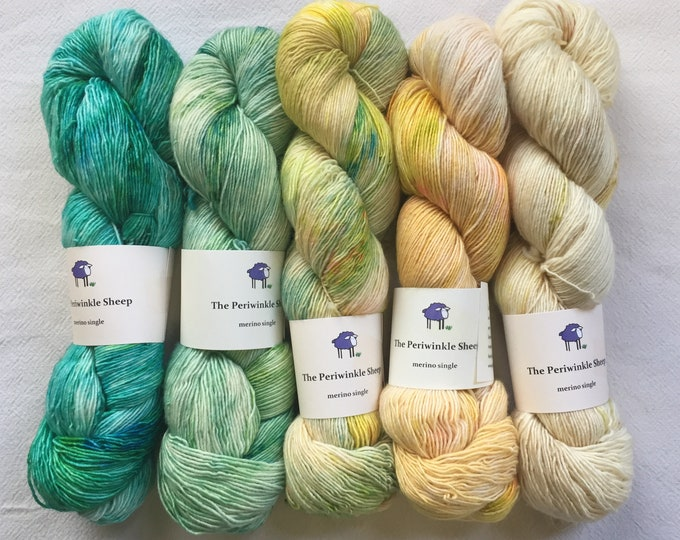 merino single - gradient kit - speckles no. 42,41,40,39,38