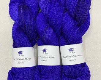 SALE Purpose - OOAK blue/purple