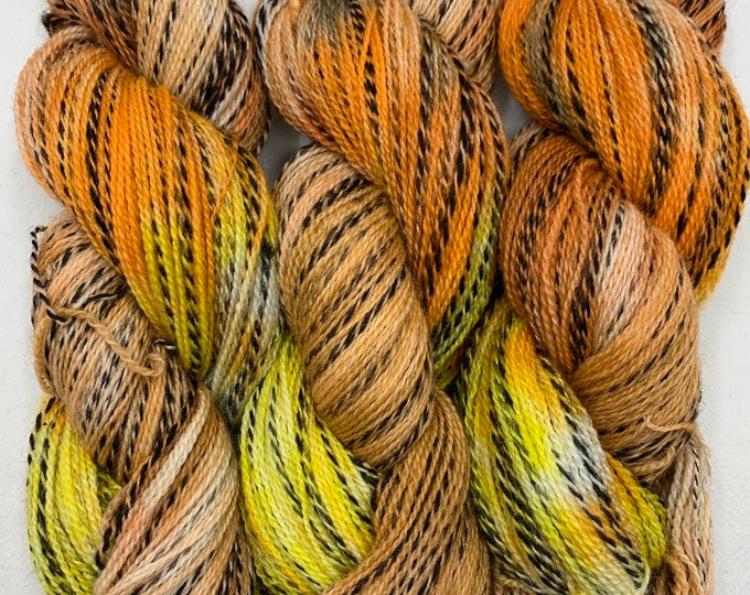 highland wool fingering - OOAK fall is coming