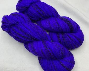 highland wool fingering - bright violet