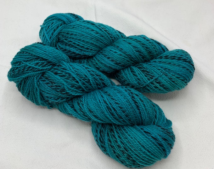 highland wool fingering - chrysocolla