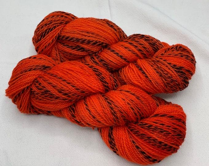 highland wool fingering - red larkspur