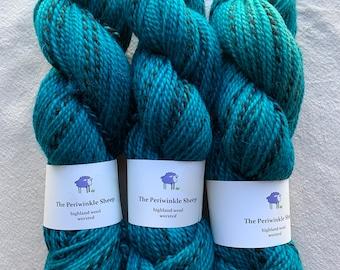 highland wool worsted - Chrysocolla
