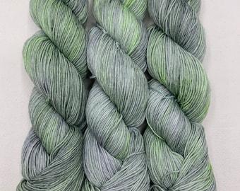watercolors - neon grey