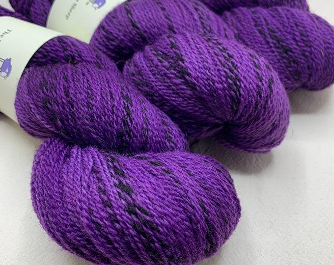 highland wool fingering - ultraviolet
