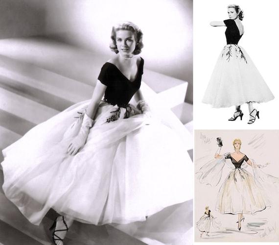 Kleid 1950er Heckscheibe Gnade Kelly WunderschönEtsy Jahre aus 8wOnk0P