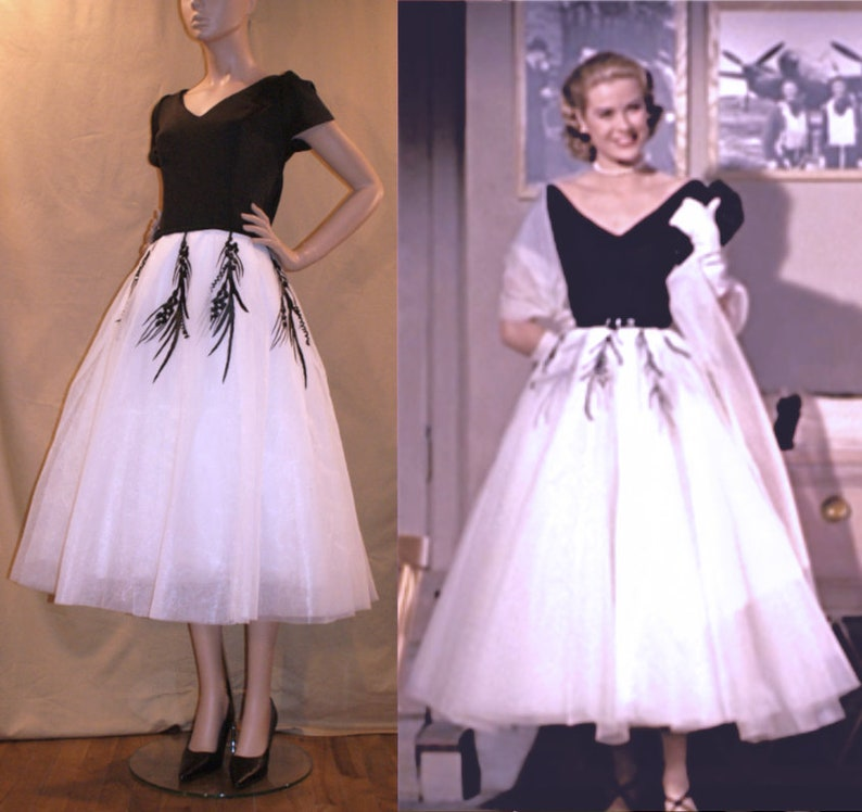 5e36222cf729 1950s Grace Kelly Dress from Rear Window... Gorgeous