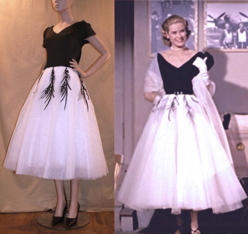 5e36222cf729 1950s Grace Kelly Dress from Rear Window... Gorgeous