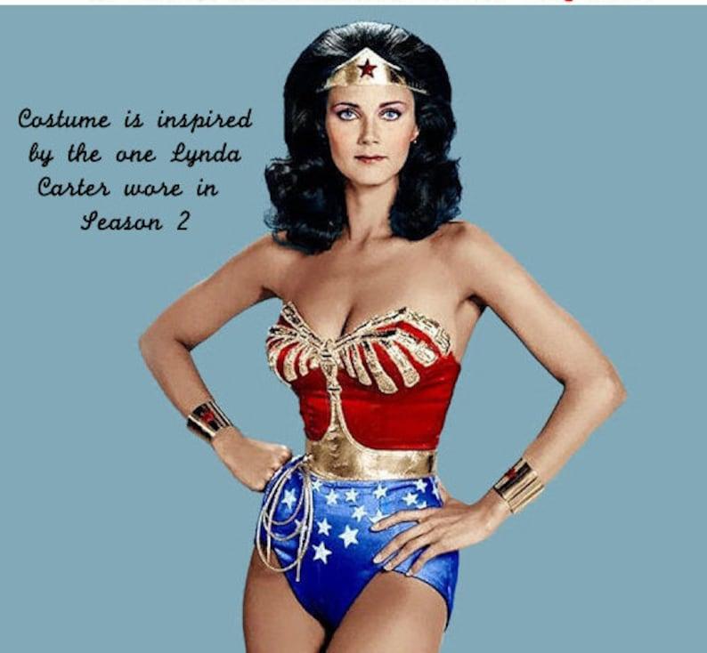 FULL Wonder Woman Costume... Season 2 Lynda Carter WW S2... | Etsy