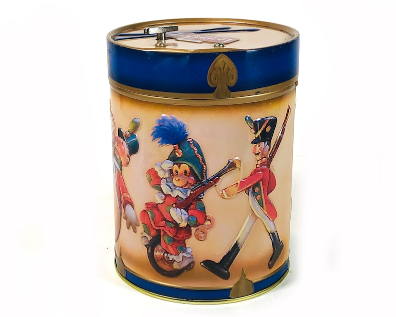 German Cookie Tin Music Box Have Yourself A Merry Little Christmas Perfect For Holiday Gift Giving By Lambertz