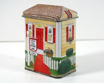 Vintage Nestle Toll House Tin - Little House Tin (2 Available)