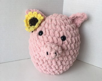 Pig Squishmallow - Daisy The Pig - Pig Plushie = Plush