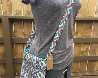 Boho Crossbody Bag - Country Bohemian Bag -