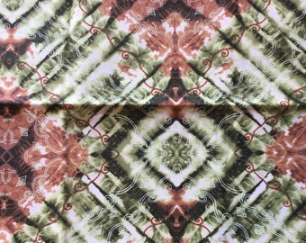 Cotton fabric 29 inches by 45 inches