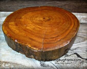 Wood Slab Cake Stand Etsy