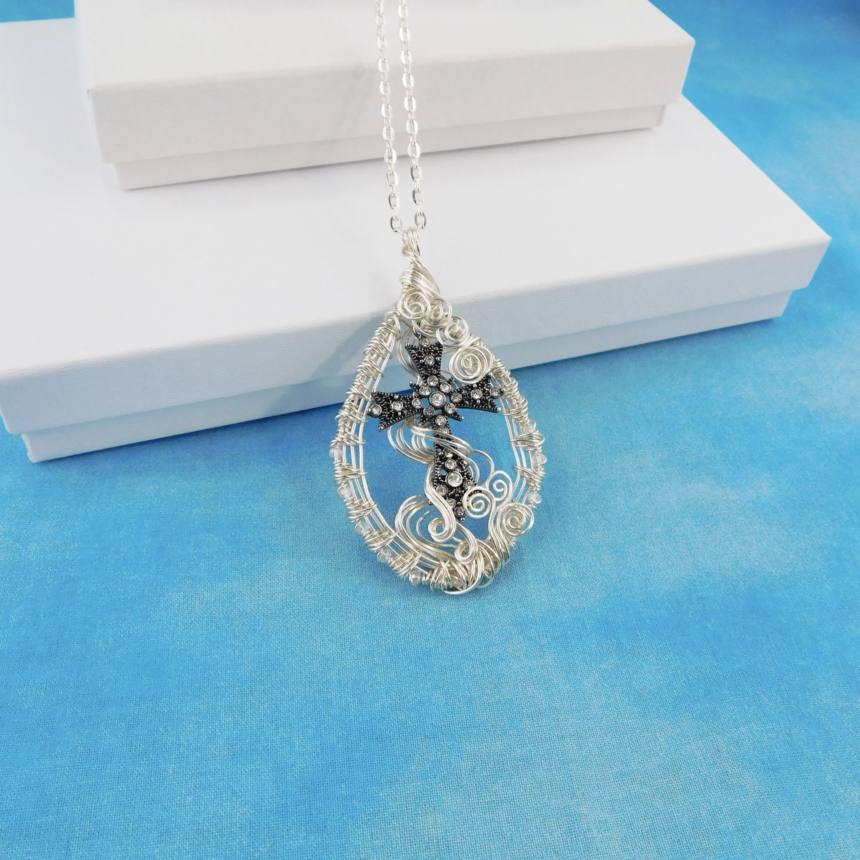 Christian Cross Pendant, Inspirational Womens Gift ...