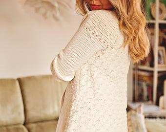 Crochet PATTERN  - Mia Cardigan (English only)
