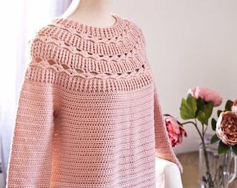 Crochet PATTERN  - Mama Ester Sweater (sizes S, M, L, XL, XXL) (English only)