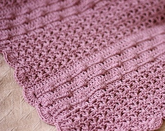 Crochet PATTERN  - Bobble Baby Blanket