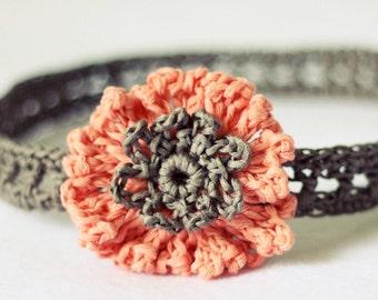 Crochet PATTERN - Cornflower Headband (sizes - baby to adult)