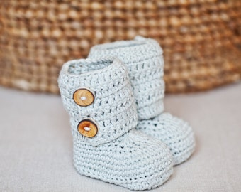 Crochet PATTERN - Baby Ankle Boots