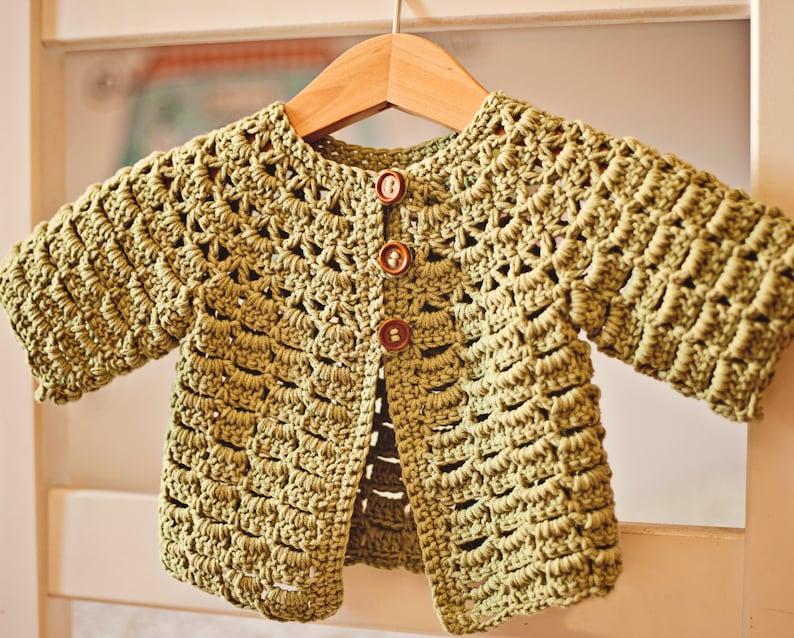 6b39f127c Crochet PATTERN Lace Cardigan one pattern two cardigans