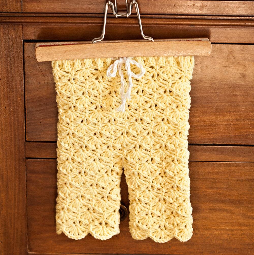Crochet Pattern Seamless Lace Leggings Sizes Baby Toddler Etsy
